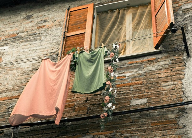 Was haben Mauern und Kleider gemeinsam?