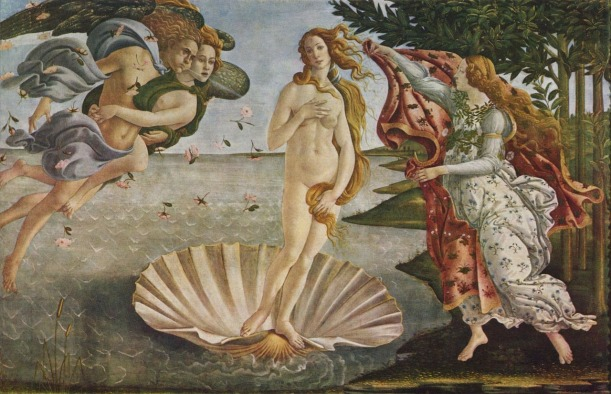 Botticelli_Geburt der Venus