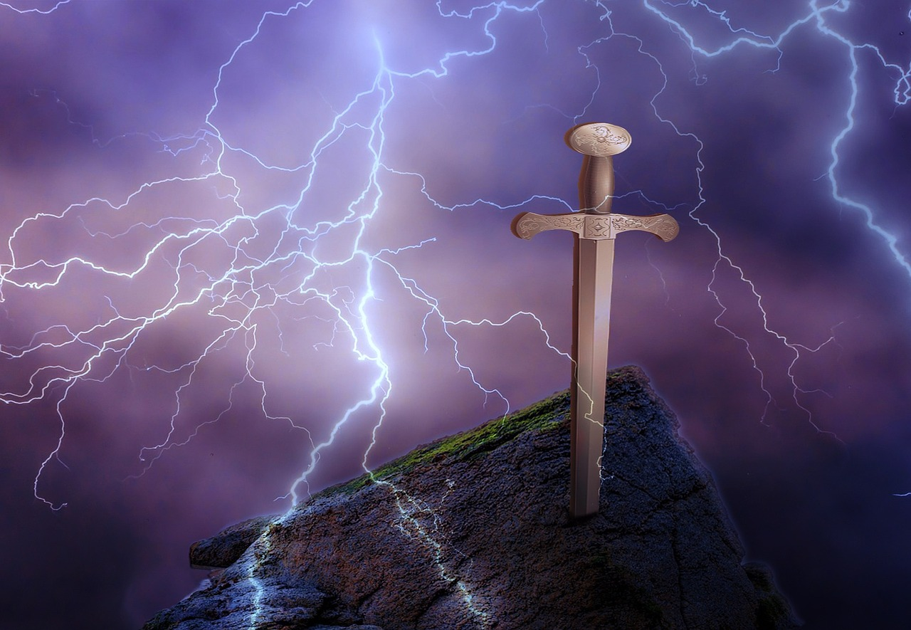 Excalibur und das Element Metall
