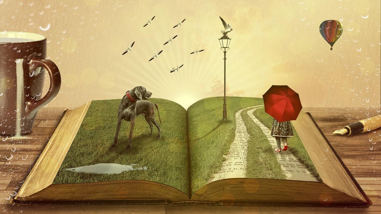 Freunde, die man noch nicht kennt, trifft man auch in Büchern.