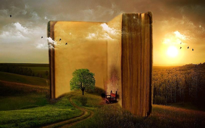 Welt im Buch