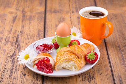 Lieblingsfrühstück am Morgen - vertreibt Kummer und Sorgen