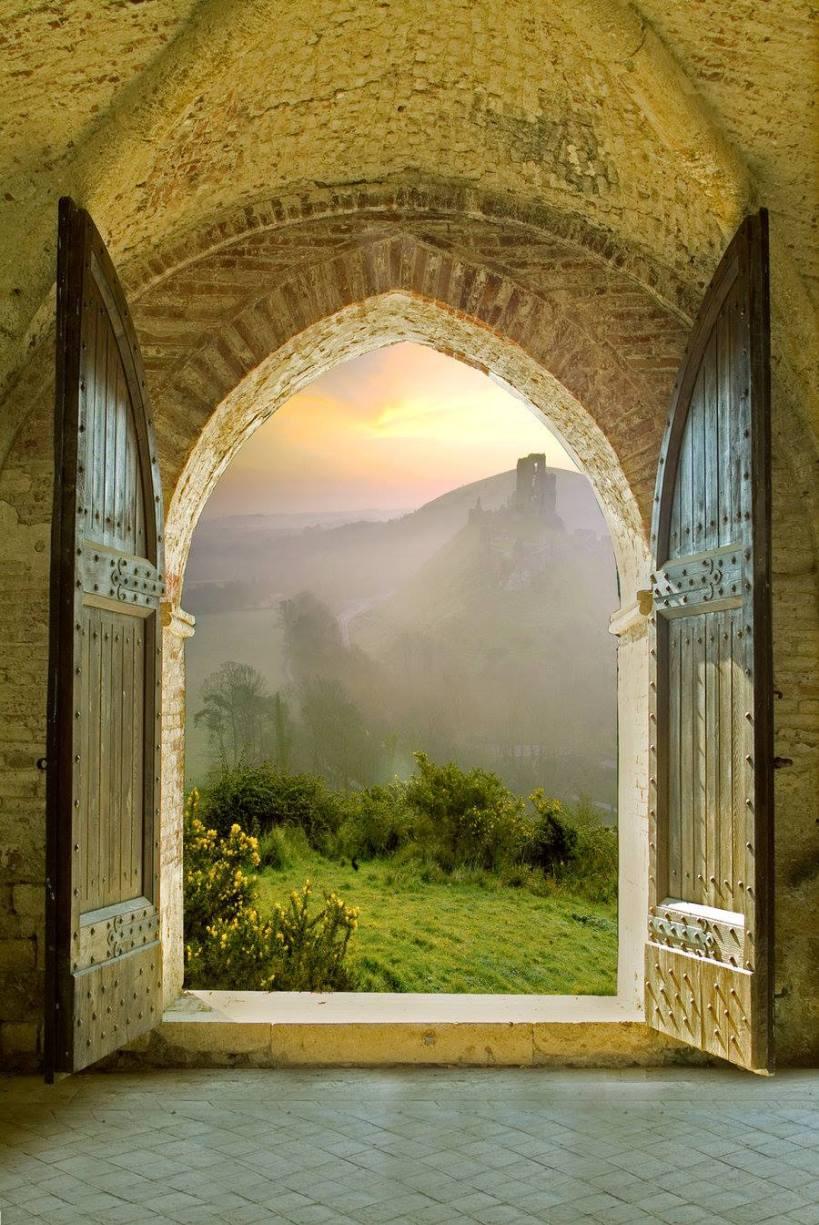 Tür ins Morgenland