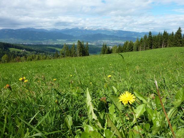Ruhe und Berg