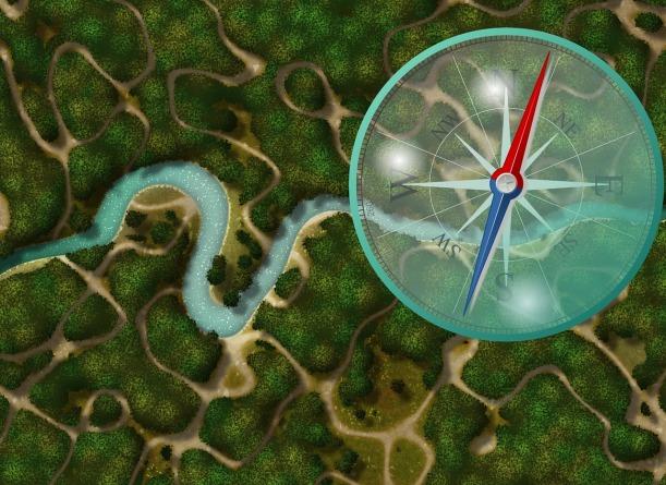 8 Himmelsrichtungen, ausgestattet mit magischen Kräften. Wohin geht die Reise?
