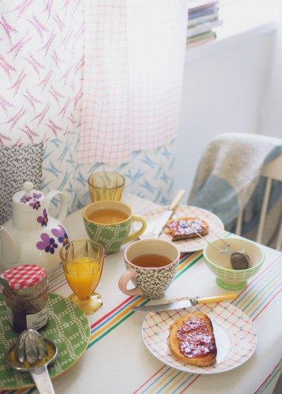 © Tracey Hocking hat diesen Tisch gedeckt und fotografiert